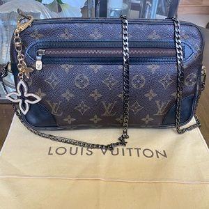 Auth Louis Vuitton Marly Dragonne GM